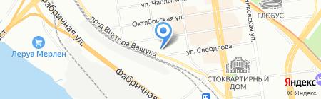Телефонный город на карте Новосибирска