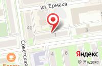Схема проезда до компании Мир Технология Связь в Новосибирске