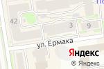 Схема проезда до компании Корвет в Новосибирске