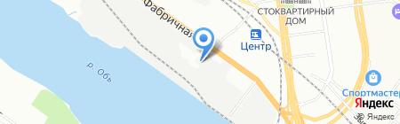 Новый Мир на карте Новосибирска