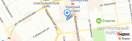 Гарантия Права на карте Новосибирска