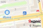 Схема проезда до компании Хочу кофе в Новосибирске