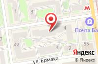 Схема проезда до компании Адвокатский кабинет Плойкина А.С в Перми