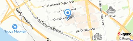 City Express на карте Новосибирска