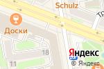 Схема проезда до компании Портал по недвижимости в Новосибирске