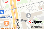 Схема проезда до компании Финансовые решения в Новосибирске
