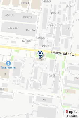ТРАНСПОРТНО-ЭКСПЕДИТОРСКАЯ ФИРМА ТАРОН на карте Новосибирска