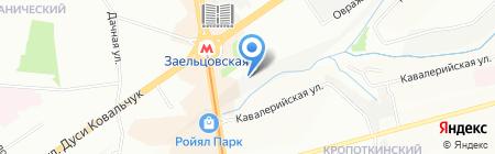 O-BABY на карте Новосибирска