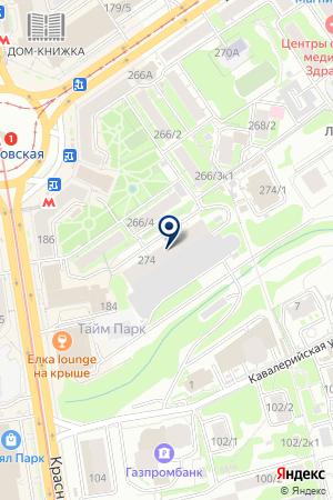 Мейджиксан на карте Новосибирска