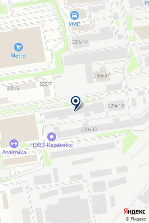 ТРАНСПОРТНАЯ ФИРМА АЛЬТАИР на карте Новосибирска