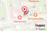 Схема проезда до компании Вп - Технологии в Новосибирске