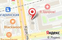 Схема проезда до компании Сибпромтех в Новосибирске