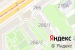Схема проезда до компании Киоск по продаже хлебобулочных изделий в Новосибирске