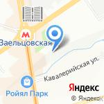 Экселенс на карте Новосибирска