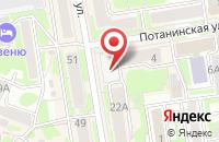 Схема проезда до компании Инфдокцентр в Новосибирске