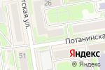 Схема проезда до компании Технологии Красоты в Новосибирске