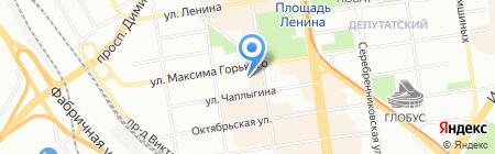 La Belle на карте Новосибирска