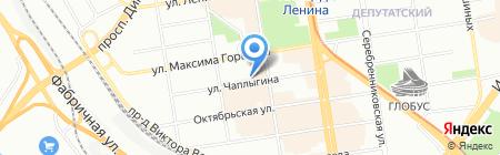 Прованс на карте Новосибирска