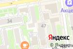 Схема проезда до компании Гёте-Институт Новосибирск в Новосибирске