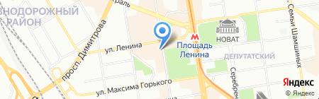 Управление Федеральной почтовой связи Новосибирской области на карте Новосибирска