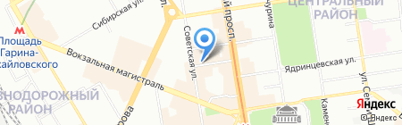 Технологии Красоты на карте Новосибирска