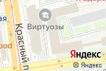 Схема проезда до компании КОМПЛИСИТЕ в Новосибирске