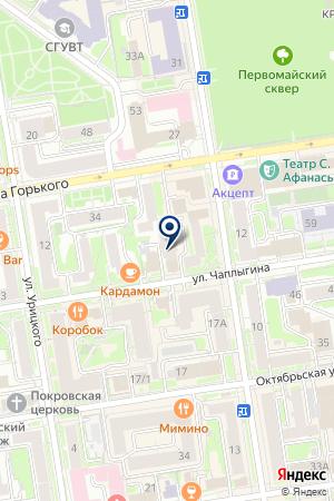 Business LAB на карте Новосибирска