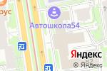 Схема проезда до компании Центр строительной экспертизы и инжиниринговых услуг в Новосибирске
