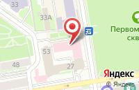 Схема проезда до компании Принтографф в Подольске