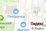 Схема проезда до компании Рабочая одежда в Новосибирске