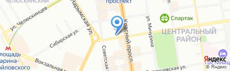 Большой Город на карте Новосибирска