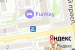 Схема проезда до компании Град-Лингва в Новосибирске