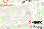 Схема проезда до компании ЛОРиЯ в Новосибирске