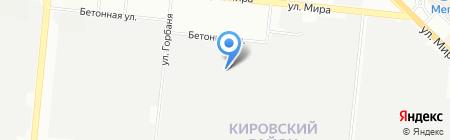 ТриоСтрой на карте Новосибирска
