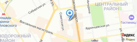 ЛЕГИОН на карте Новосибирска
