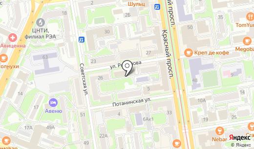 113. Схема проезда в Новосибирске