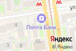 Схема проезда до компании Фитнес Формула в Новосибирске