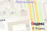 Схема проезда до компании People-group в Новосибирске