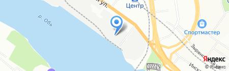 ТРАНСКАРГО АНО на карте Новосибирска