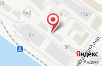 Схема проезда до компании Алгоритм ремонта в Новосибирске