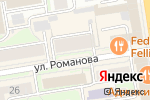 Схема проезда до компании Бачетта Студио в Новосибирске