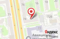 Схема проезда до компании Универсальный Курьер в Новосибирске