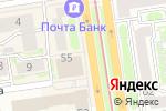 Схема проезда до компании Сквот в Новосибирске