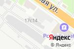Схема проезда до компании РосБизнесСвязь в Новосибирске