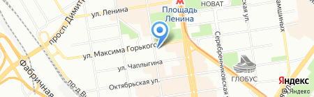 КБ Акцепт на карте Новосибирска