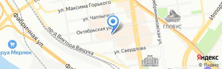 Радэкс на карте Новосибирска