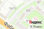 Схема проезда до компании МПК в Новосибирске