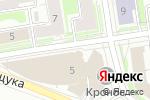 Схема проезда до компании Гудман в Новосибирске