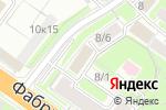 Схема проезда до компании Юна в Новосибирске
