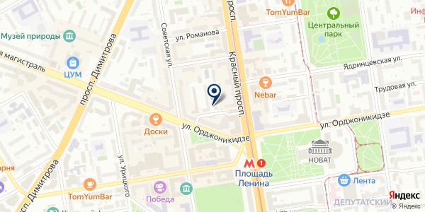 ЖЭУ №7 на карте Новосибирске